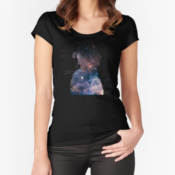 Anders romance Fitted Scoop T-Shirt