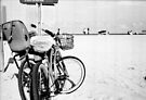 Bicycles at the Beach by Bill Wetmore