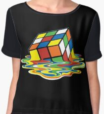 Melting Rubix Chiffon Top