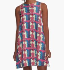 Unicorns in Love A-Line Dress