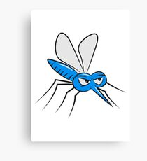 Mosquito insect Canvas Print