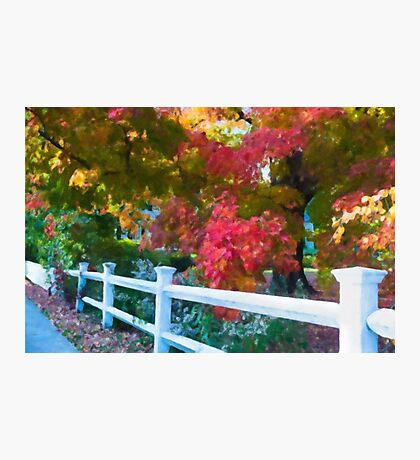 The Magic of a New England Autumn Photographic Print