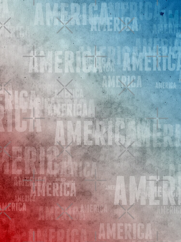 Patriotic America Text Graphic by morningdance