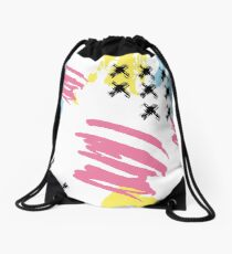 Mad brush Drawstring Bag