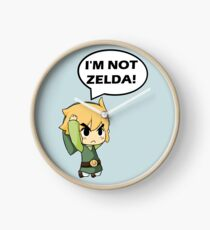 I'm Not Zelda Clock