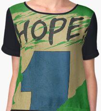 Hope!! (time machine) Women's Chiffon Top