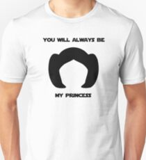 Leia, you will always be my princess Unisex T-Shirt