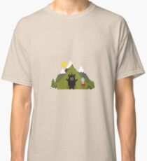 Grizzly Bear Camping Classic T-Shirt