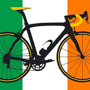 Bike Flag Ireland (Big - Highlight) by sher00