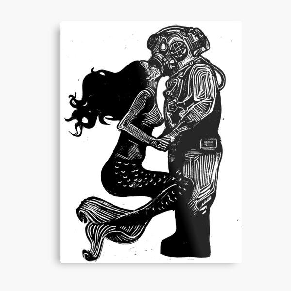 My Underwater Love Metal Print