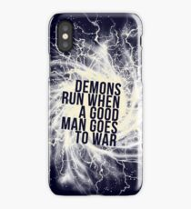 Demons run - v3 iPhone Case/Skin