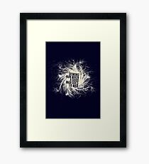 Demons run - v3 Framed Print