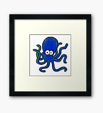 Squiggles Framed Print
