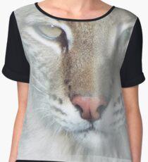 Lurking Lynx Women's Chiffon Top