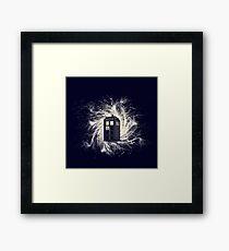 Demons run - v2 Framed Print