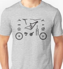 Mountain Bike Parts - MTB Gear T-Shirt