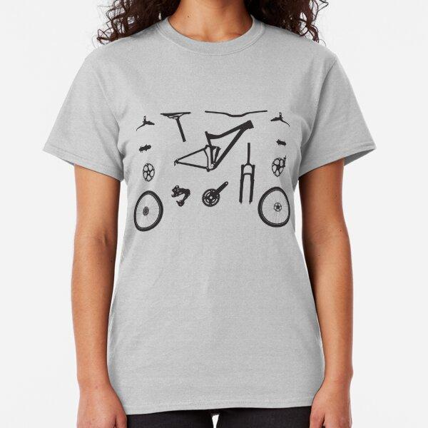 Mountain Bike Parts - MTB Gear Classic T-Shirt
