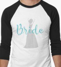 bride Silhuette Men's Baseball ¾ T-Shirt