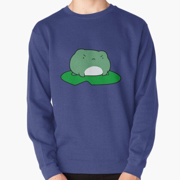 Grumpy Lilypad Frog Pullover Sweatshirt