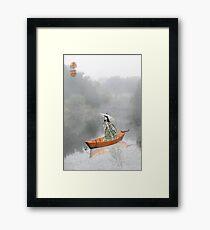 Parasol Framed Print