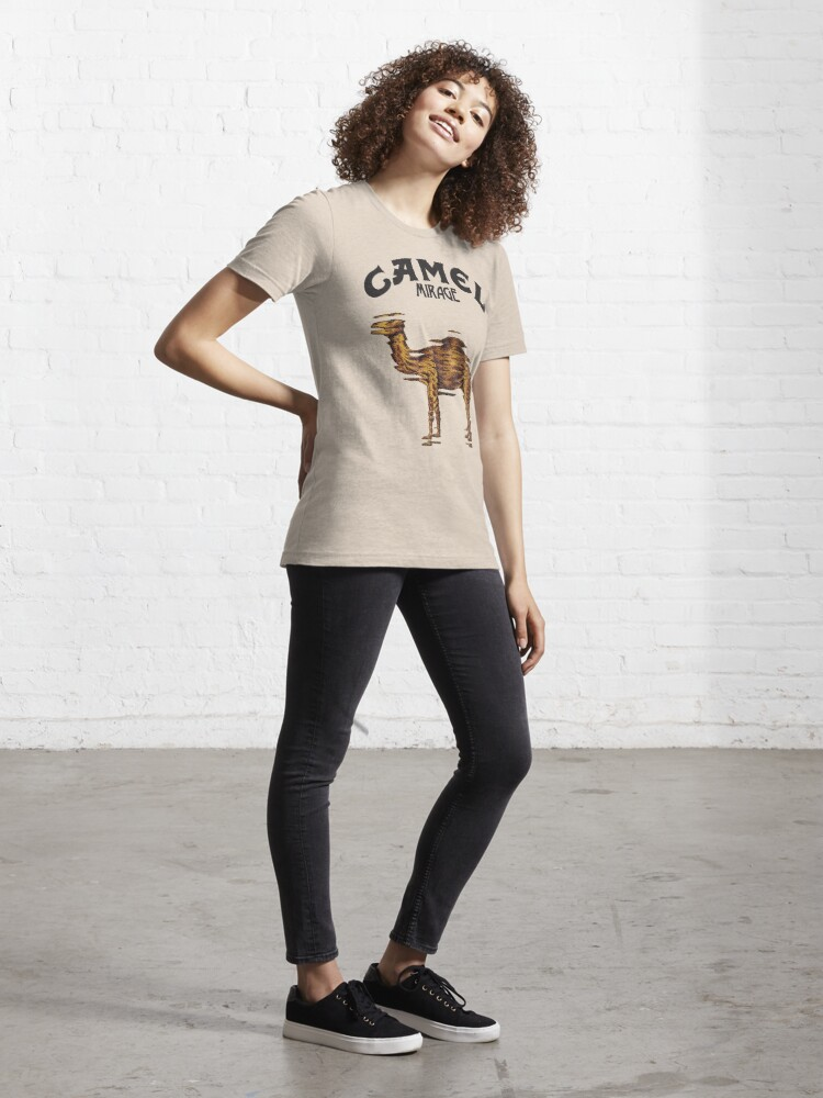 Alternate view of Camel Mirage Band Essential T-Shirt
