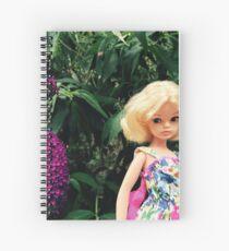 Sindy Doll Spiral Notebook