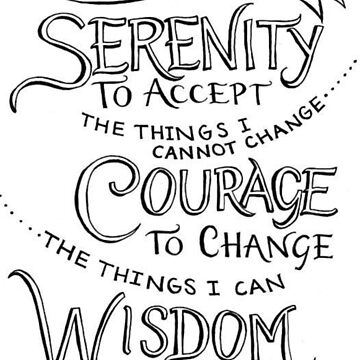 Simply the Serenity Prayer by sportzqueeen