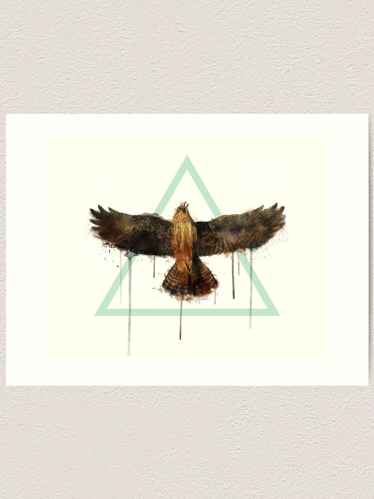 Alternate view of Falcon Art Print