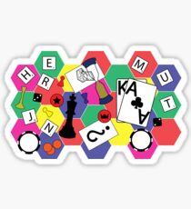 Board Games Sticker