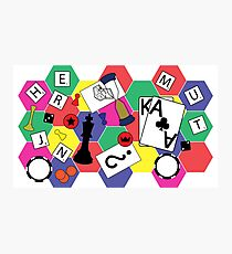 Board Games Photographic Print
