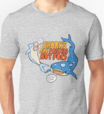 sharks are friends, not foes Unisex T-Shirt
