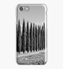 Tuscan Cypresses iPhone Case/Skin