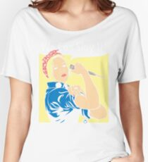 Buffy the Riveter Women's Relaxed Fit T-Shirt