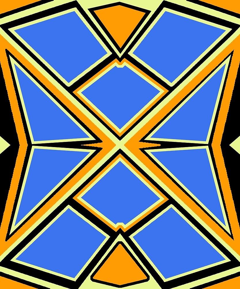 Geometric #785 by Rockett Graphics