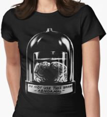 Abby Normal BLACK Women's Fitted T-Shirt