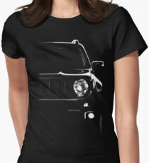 Jeep Renegade, jeep 2015 Womens Fitted T-Shirt