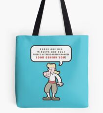Little Monkey Poem Tote Bag