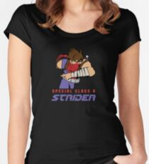Class A Strider Women's Fitted Scoop T-Shirt