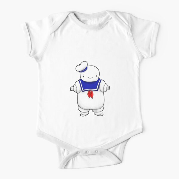 Stay puft marshmallow man Short Sleeve Baby One-Piece