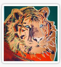 Siberian Tiger - Andy Warhol Sticker
