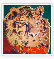 Sibirischer Tiger - Andy Warhol Sticker