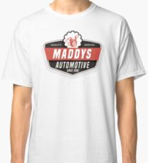 Maddys Automotive - White Back Classic T-Shirt