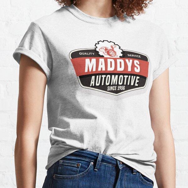 Maddys Automotive - White Back Classic T-Shirt