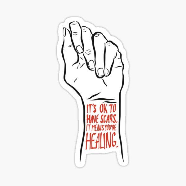 Self harm recovery positivity   Sticker