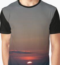 Intense Sunset  Graphic T-Shirt