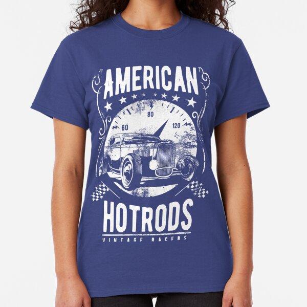 Kings of Speed East Coast Club Hot Rod Car Club T Shirt Black Graphic Rockabilly
