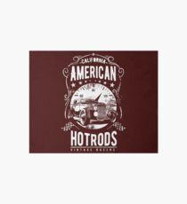 American Hot Rod Vintage Racers Art Board