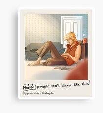 Sleeping Will Canvas Print