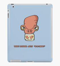 Lil Ackbar iPad Case/Skin