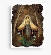 Fey Queen (Fairy Queen) Canvas Print